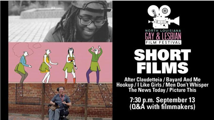 """NLGLFF Shorts Program will be followed by Q&A with filmmakers from """"After  Claudetteia;"""" short film about Monroe, LA. The NLGLFF shorts are """"After ..."""